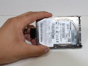 Toshiba Satellite A215 S4697 Hard Drive Replacement