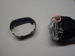 Axa Security Greenline 50 LED Bike Headlight Disassembly