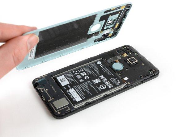 Retrait du cache de la batterie du Nexus 5X