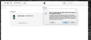 iphone 5 stuck in recovery mode and wont restore