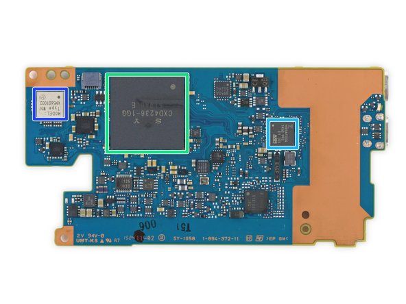 Image 2/3: Micron Technology [link|http://www.micron.com/support/fbga?fbga=JWB39|5FA98 JWB39|new_window=true] eMCP