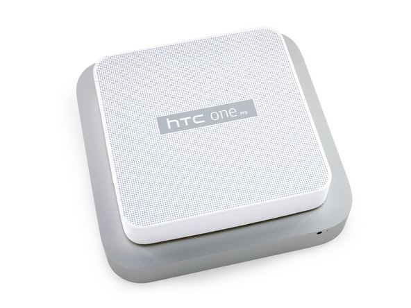 Did HTC secretly send us a Mac Mini? No, but it's definitely a uniquely designed box.