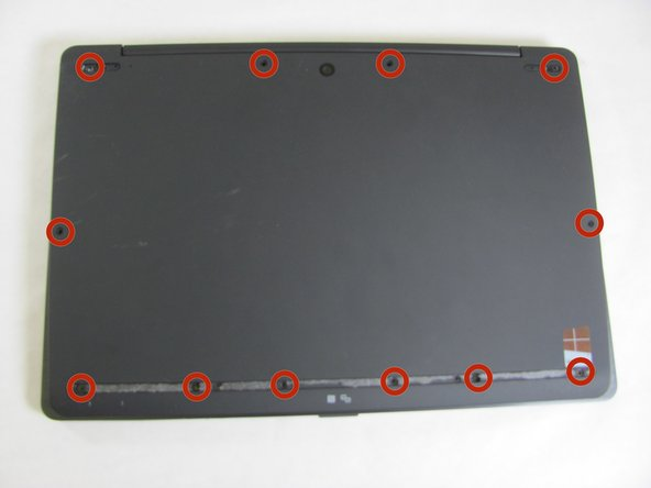 Sony Vaio Fit 13A Back Cover Replacement