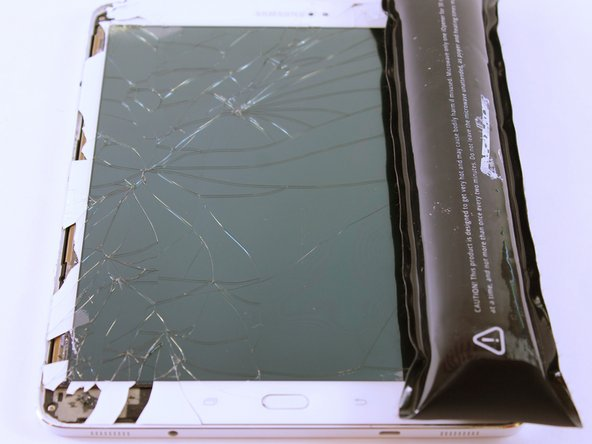 Turn off the tablet before disassembly.