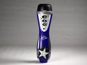 Justin Bieber Concert Microphone