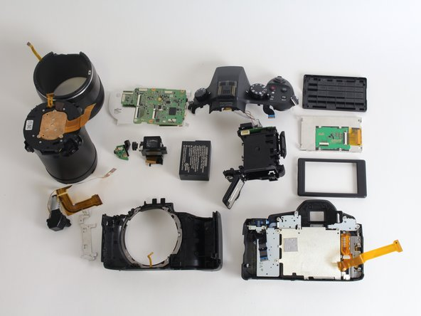You have now completely disassembled your camera.