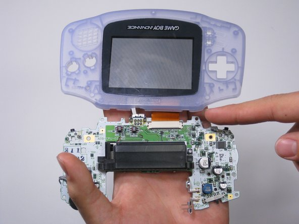 game boy advance speakers replacement ifixit repair guide rh ifixit com Nintendo DS Lite Nintendo DS