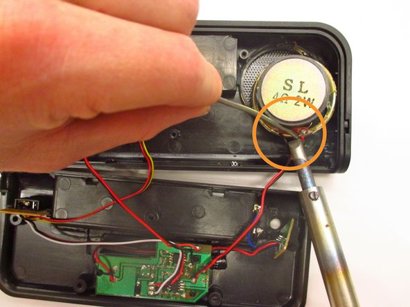 Image 3/3: Be careful, both hot glue gun and soldering iron can become extremely hot