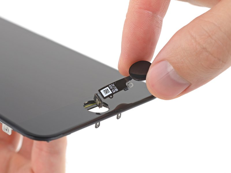 how to change the button way in iphone 7