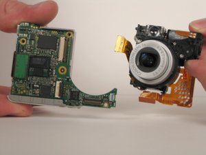 Canon PowerShot SD200 Lens Assembly Replacement