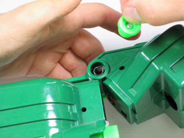 Remove all parts within the chamber to be able to completely detach the nose of the gun.