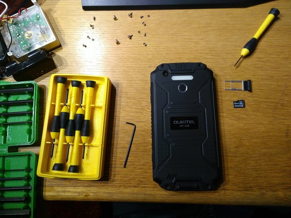 OUKITEL K10000 MAX Disassembly