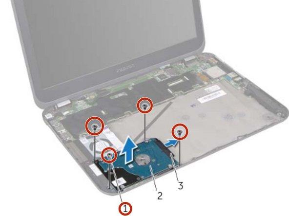 Reemplazo de disco duro Dell Inspiron 13z 5323