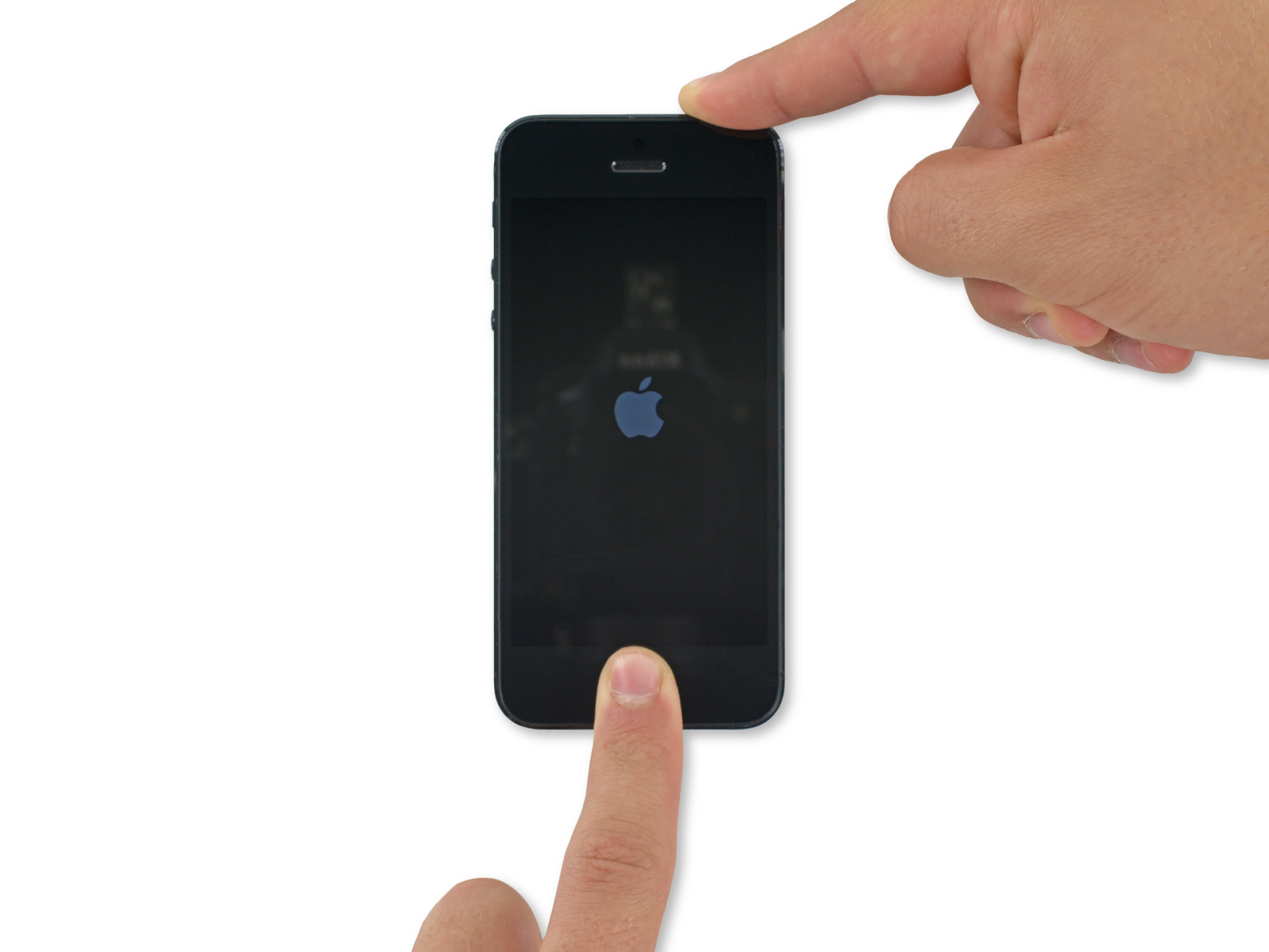 How to Force Restart an iPhone 5 - iFixit Repair Guide