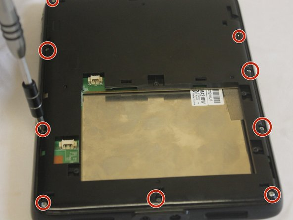 Using PH0 Phillips Driver, remove the 12 Screws in the cover.