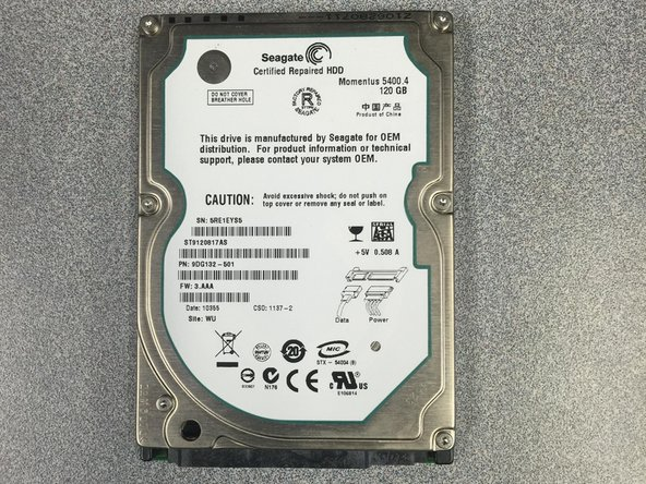 HP Compaq 6910p Hard Drive Replacement