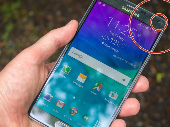 How to repair camera error in Samsung Galaxy Note 4