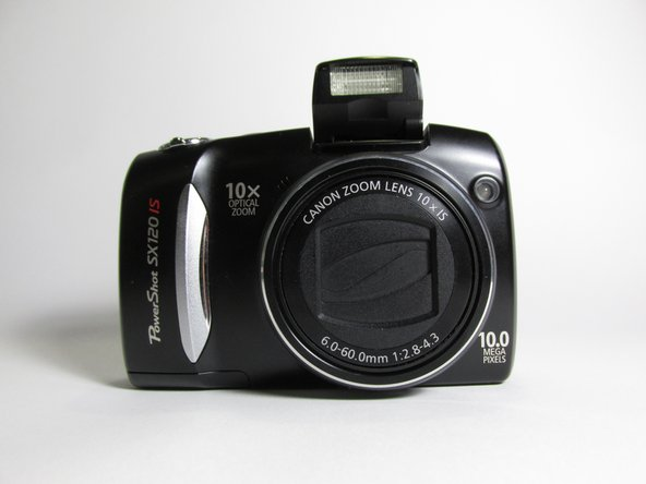 Canon PowerShot SX120 IS Function Buttons Replacement