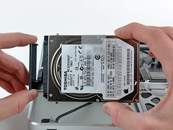 Remove the hard drive and set it aside.