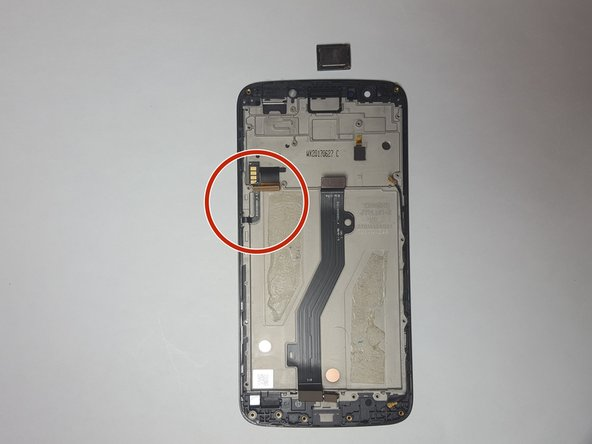Motorola Moto E4 Plus Power and Volume Buttons Replacement