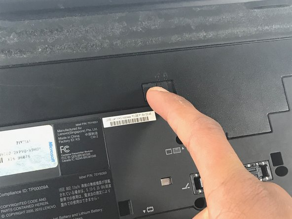 Lenovo Thinkpad X201 Trackpad Replacement