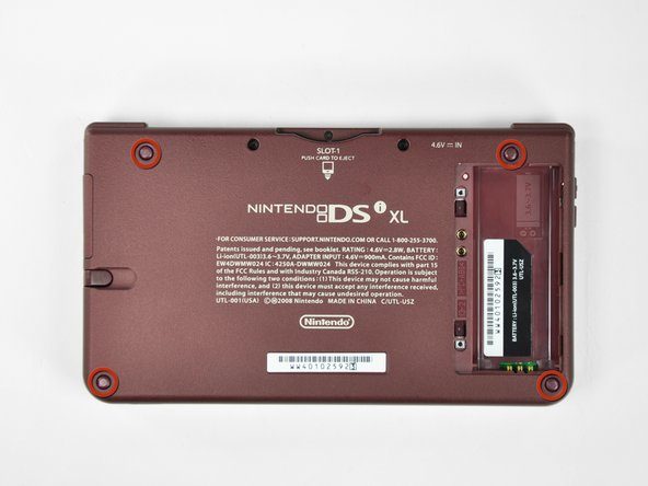 Nintendo DSi XL Lower Case Replacement