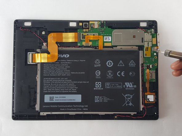 Lenovo Tab 2 A10-70 Power Button Replacement