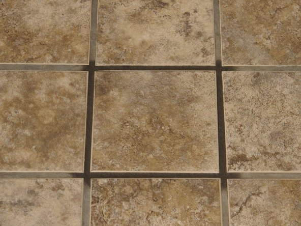 Wait and allow grout to dry for several hours.