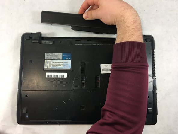 ASUS K53E-BBR1 Battery Replacement