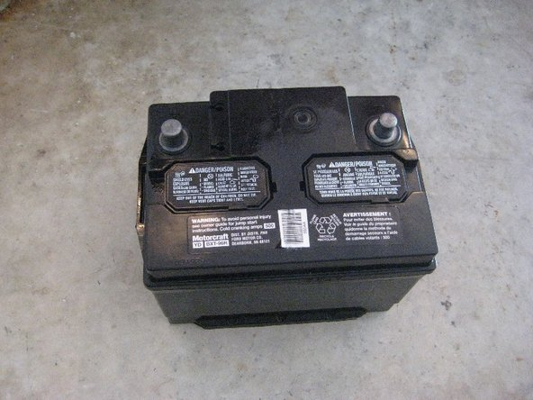 12V Car Battery Main Image