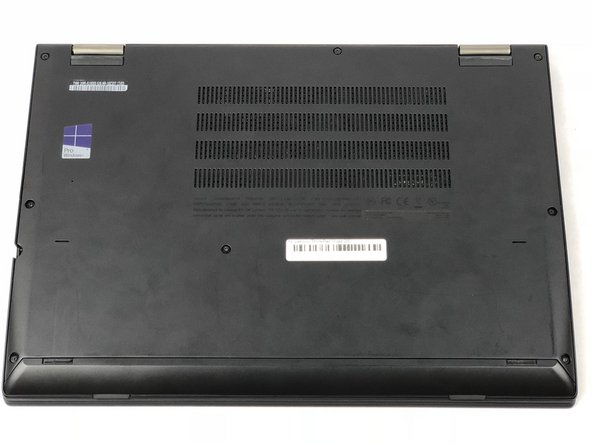 Lenovo ThinkPad Yoga 260 Back Cover Replacement