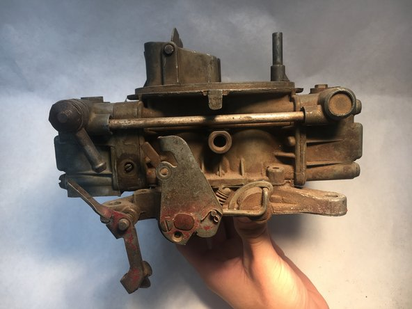 Make sure your carburetor has no fuel inside.