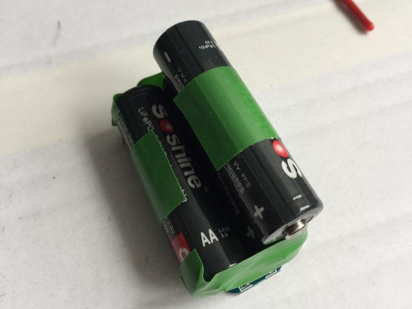 It is hard to get the orientation if all batteries correct on first try. But the tape allows cutting and reorientation if needed.