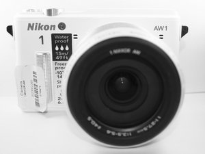 Nikon 1 AW1 Troubleshooting