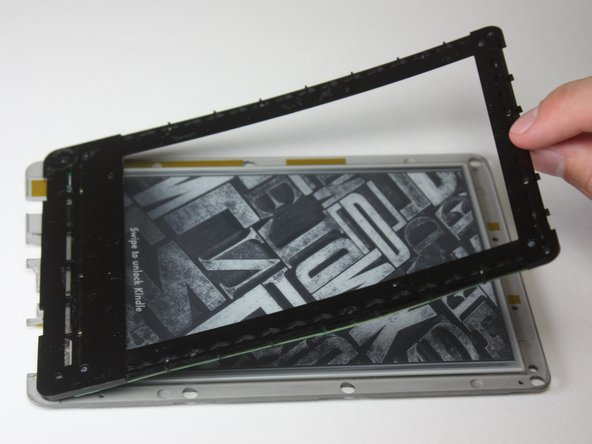 Image 1/1: Use care, the bezel and circuit board are flimsy and the adhesive is strong.