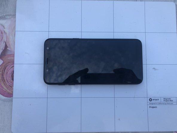 Samsung Galaxy J6 Display replacement