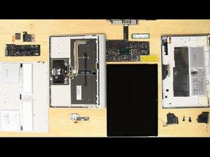 Surface Book2の分解レポート