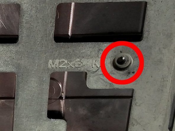 These screws will come out all the way, keep them somewhere safe.