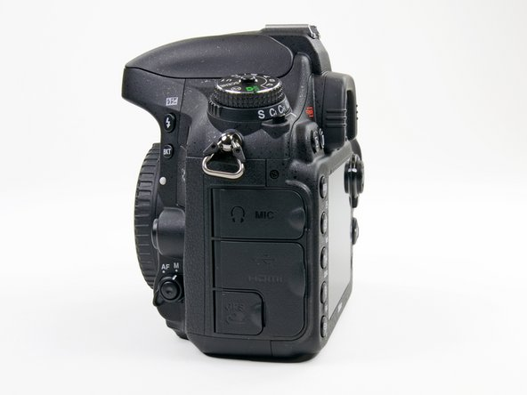 Image 1/2: Before we take a look inside the D600, let's take a look at its port side, aptly located on the [http://www.sailingahead.com/information/directions.htm|port side] of the camera.