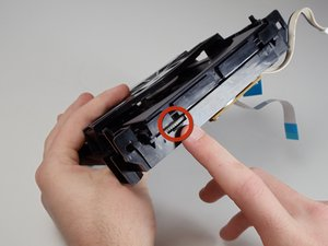 Cleaning Samsung DVD-P230 Laser Lens