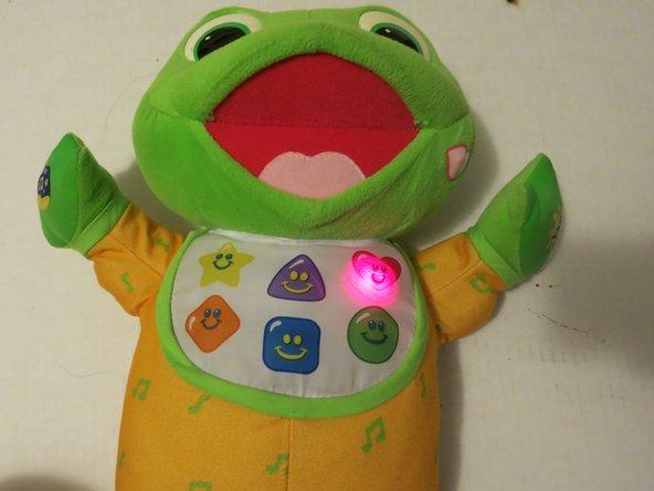Image 1/1: Enjoy your good-as-new LeapFrog Hug and Learn Baby Tad!