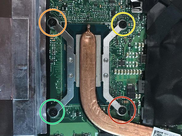 Using the same screwdriver, remove the four 4mm black screws around the copper lining