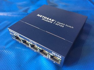 Netgear ProSAFE GS105 Gigabit Switch Disassembly
