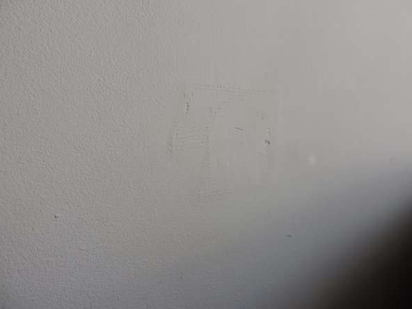 To finish this repair, you will want to apply paint.  It will make the finished product more attractive, as seen here.