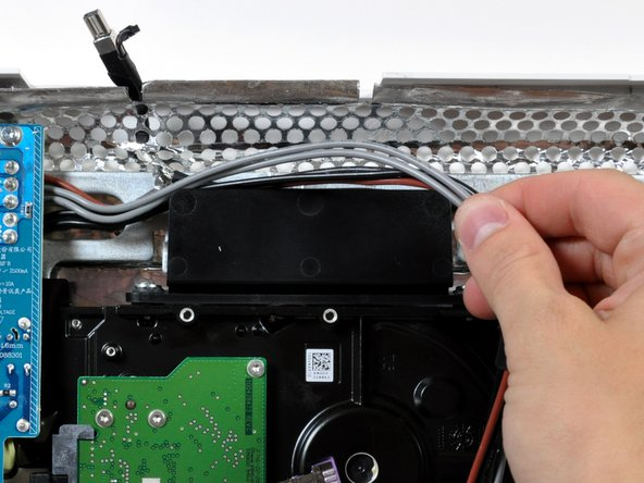 Image 1/1: Some logic boards can be removed without taking out the hard drive.