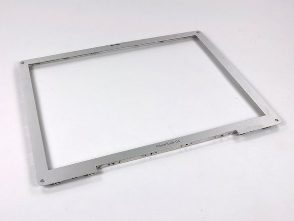 "PowerBook G4 Aluminum 12"" 867 MHz Front Display Bezel Replacement"
