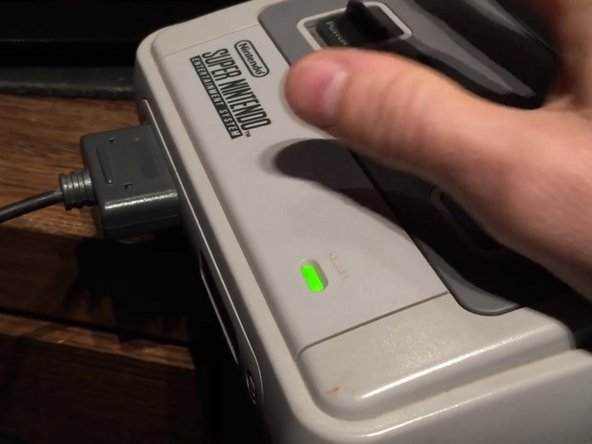 You're Now Done! You just need to put your Super Nintendo back together and then you have a Region Free Switchless Super Nintendo!