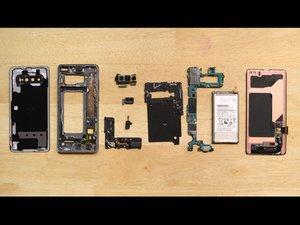 Smontaggio Samsung Galaxy S10+