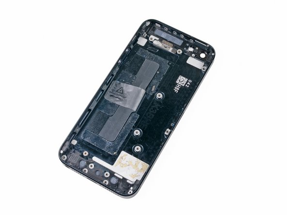 The bare rear case remains.