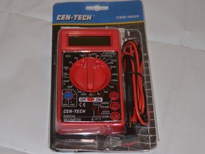 Cen-Tech Seven Function Digital Multimeter Troubleshooting